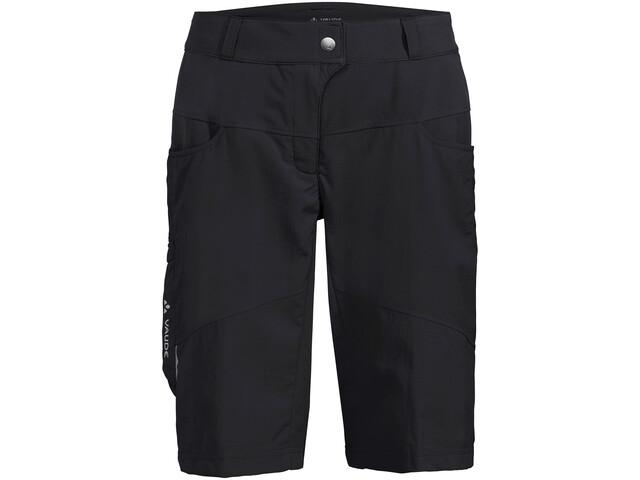 VAUDE Qimsa Shorts Dames, zwart